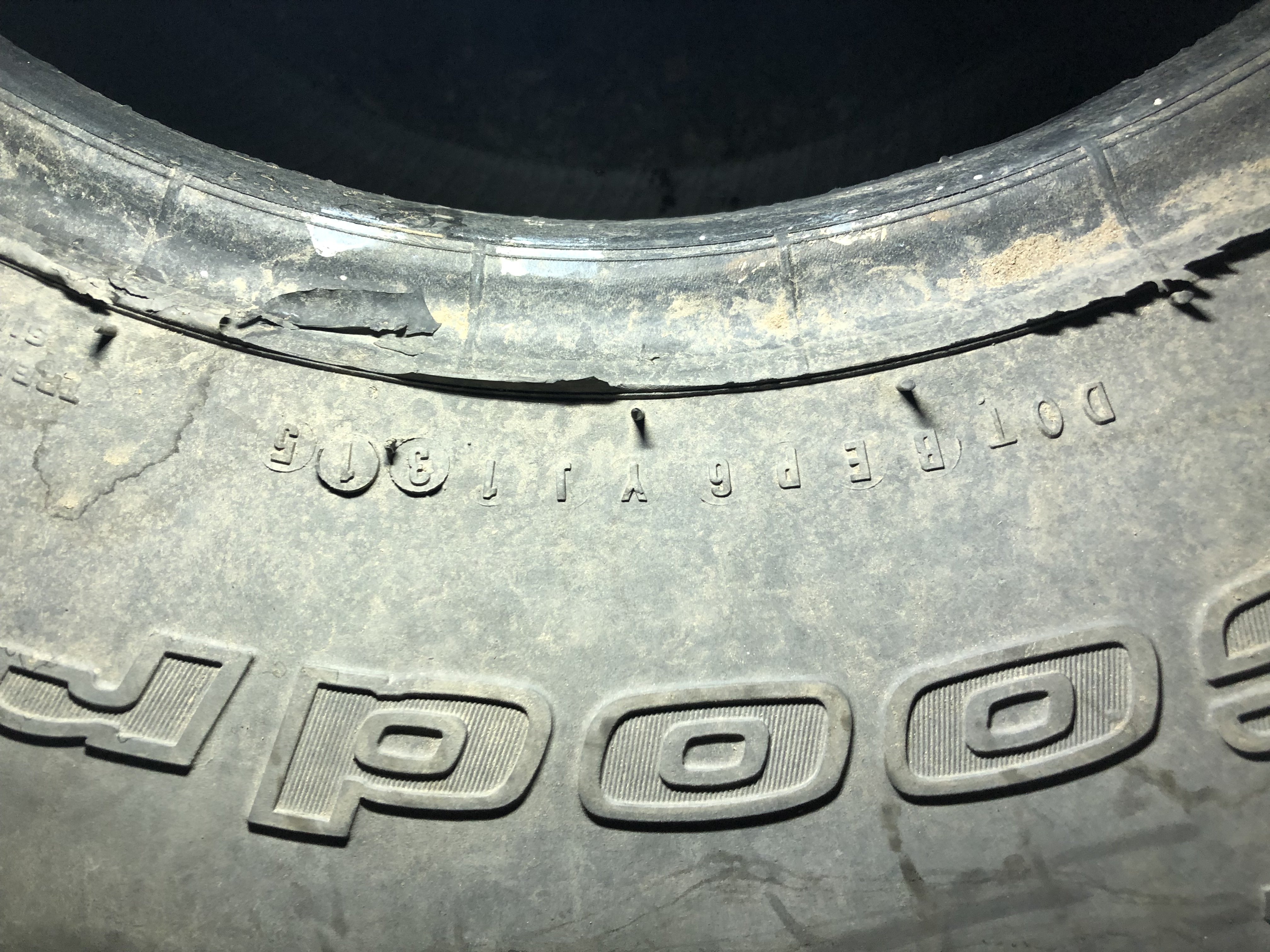 What Do You Make Of This Tire Date Code Rising Sun 4wd Club Of