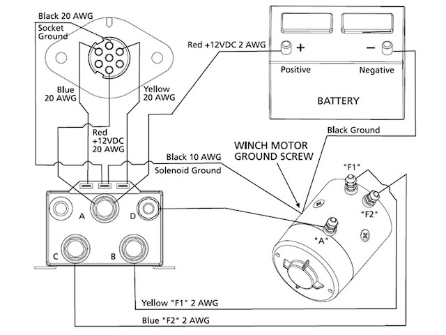 new comeup 9.5rs contactor noise | page 2 | rising sun 4wd club of ... 2 post winch motor wiring diagram  rising sun 4x4 club