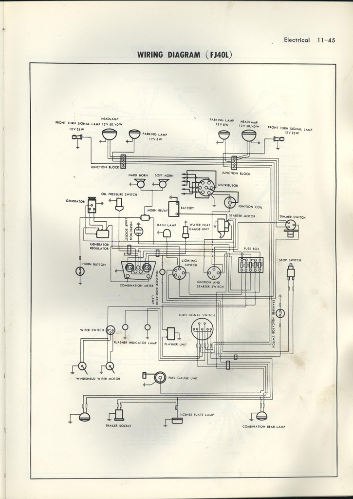 Early Fj40 Wiring Diagram Rising Sun 4wd Club Forum
